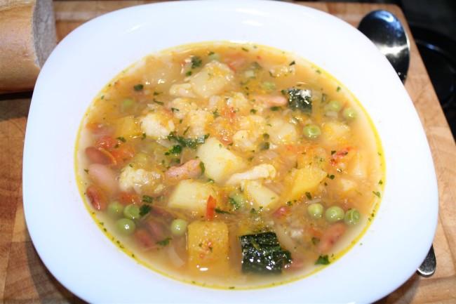 minestrone recept 12féle zöldséggel