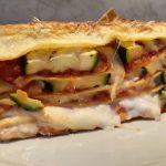 zöldséges lasagne cukkinivel